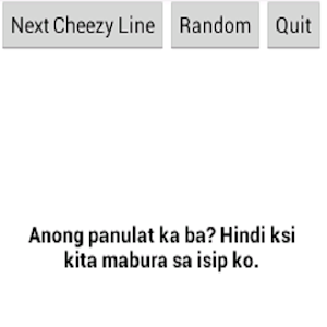 Pinoy Pick Up Lines Version 4 icon