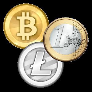 Bitcoin profit + (Alarm) icon