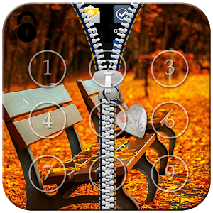 Autumn Zipper Lock icon