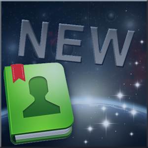 Universe Theme for GO Contacts icon