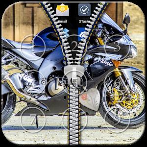 Bike Zipper Lock icon