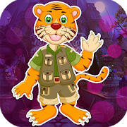 Best Game 446 Cartoon Tiger Escape From Real Cave icon