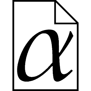 Greek Alphabet icon