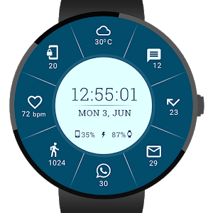Tailor-Made Watch Face icon