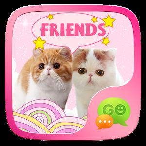 (FREE) GO SMS CAT STICKER icon