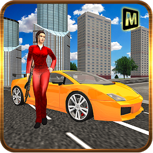 Girl San Andreas Car Robbery icon