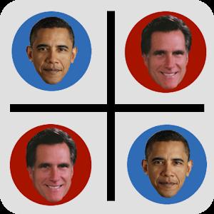Election 2012 Tic Tac Toe icon