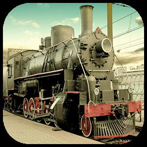 Steam Train Jigsaw icon