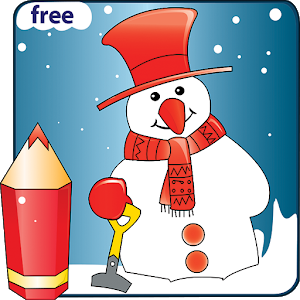 Coloring Christmas - Kids game icon