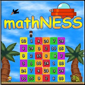 mathNESS FREE - Math Game icon