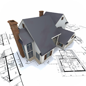 3D Model Home icon