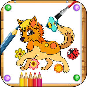 Pets Coloring Game icon