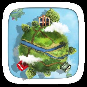 ZSKY GO Locker weather Theme icon