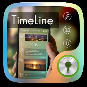 Timeline GO Locker Theme icon