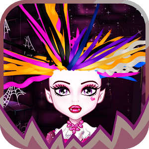 Monster Crazy Hair Salon icon
