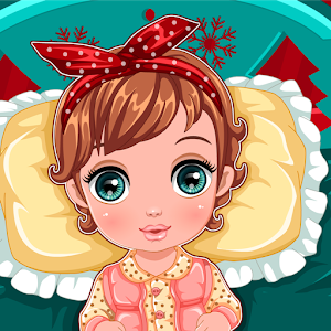 Baby New Year Caring icon