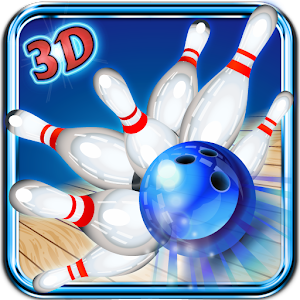 Strike Pin-bowling 3D icon