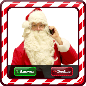 Santa Claus Video Live Call icon