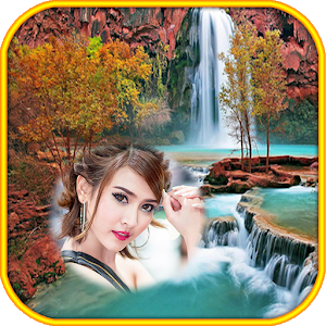 Waterfall Photo Frames montage icon