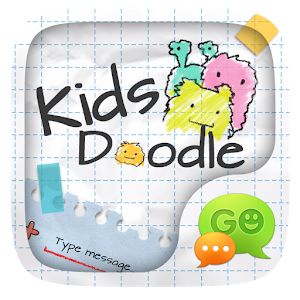 (FREE) GO SMS KID DOODLE THEME icon