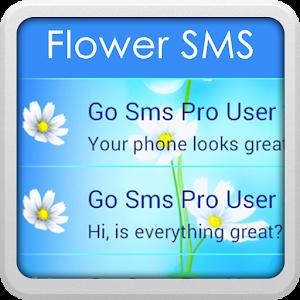 Flower GO SMS icon