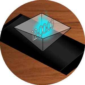Hologram Clock icon