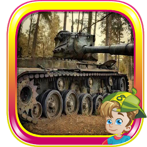 Abandoned Tank Forest Escape icon