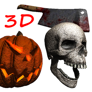 3D Halloween Live Wallpaper FR icon