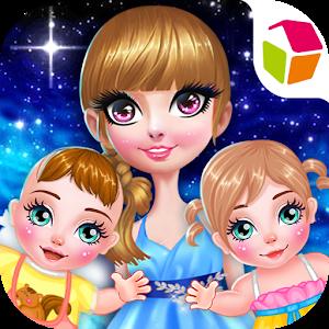 Cute Princess Newborn Baby icon