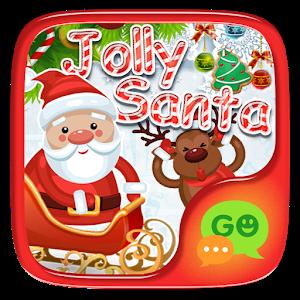 FREE-GOSMS JOLLY SANTA STICKER icon