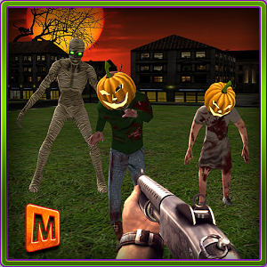 Halloween Zombies Shooter 3D icon