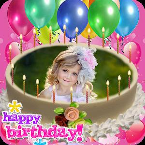 Birthday Photo Editing Cake icon