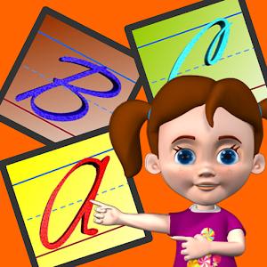 Cursive Upper Case - Autism icon