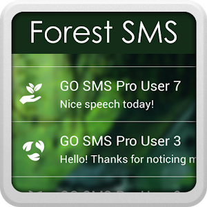 Forest for GO SMS icon