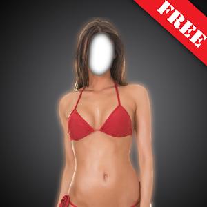 Bikini Suit Photo Montage icon