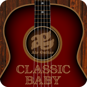 Play the guitar. Compose music icon