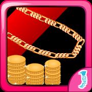Escape Game Gold Glitter icon