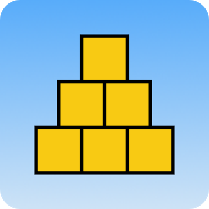 Pyramid - Tricky physics game! icon