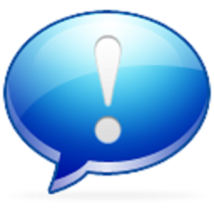 Emergency chat icon