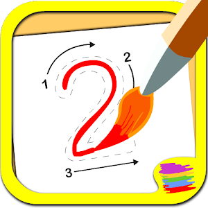 123 Learn maths for toddlers icon