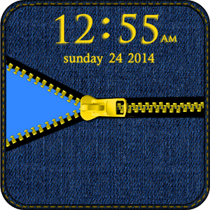 Blue Jean Zipper Go Locker icon