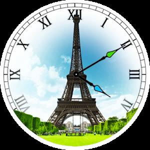Paris Clock Widget icon
