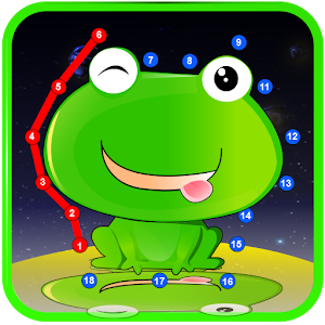 Connect The Dots - Baby Games icon