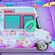 Girly Ice Cream Truck Car Wash icon