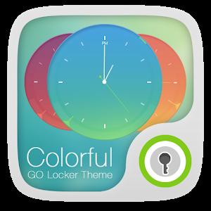 Colorful GO Locker Theme icon