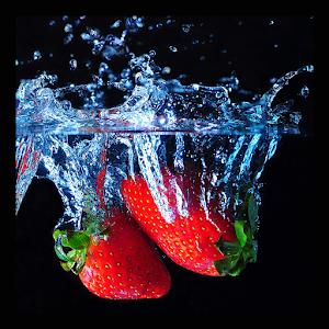 Strawberry juice LWP icon
