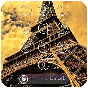Paris Lock Screen Passcode icon