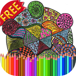 Adult Coloring Book Zendalas icon