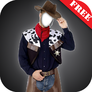 Cowboy Suit Photo Montage icon