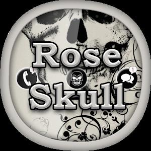 Rose Skull for GO Locker icon